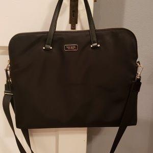 Kate Spade Dawn Laptop Bag Black Nylon